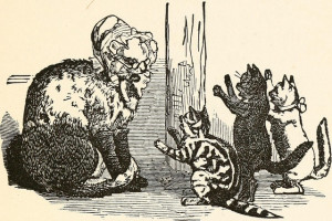 """The three little kittens"""