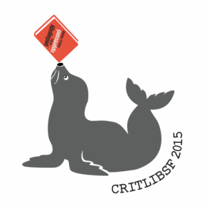 Logo from the second critlib conference in San Francisco.